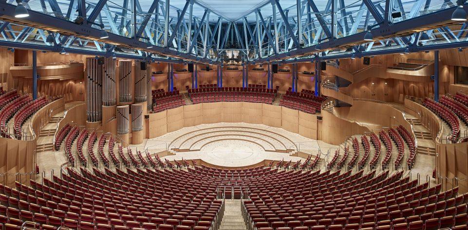 Blick in den Saal der Kölner Philharmonie